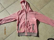 IKKS veste à capuche rose à fermeture éclair en taille 10 ans