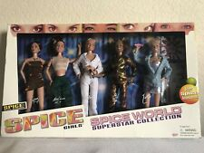 1998 5 Spice Girls Spice World Superstar Collection Barbie Dolls By Galoob Set
