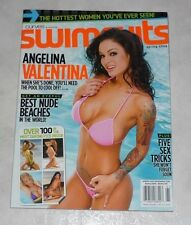ANGELINA VALENTINE Rare American Curves SWIMSUITS Magazine Spring 2009 Valentina