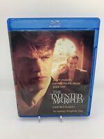 The Talented Mr. Ripley NEW Blu-Ray Disc Matt Damon Gwyneth Paltrow Rare! OOP!