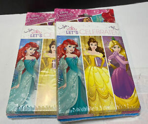 Disney Princess Let's Celebrate Party Invitations & Thank You 8 Per Pk two packs
