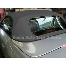 Porsche Boxster Convertible Top 97-02 in Gray Stayfast Cloth, Plastic Window