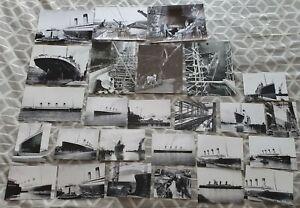 26 good sharp photo prints of White Star Line Olympic