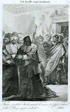 Carlo Emanuele I scopre un tradimento. Duca di Savoia, Principe di Piemonte.1863