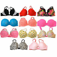 Victoria's Secret Bra Padded Push Up Bras Sexy Victorias Vs New Nwt Lace