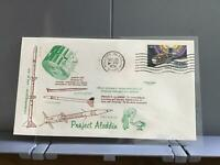 U.S.A 1974 Project Aladdin  Space stamp cover R29384