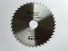 Saw Blades SET 115x22 pack of 2 for Wood Cutting Disc Circular