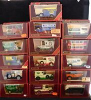 Matchbox Models of Yesteryear Vintage Cars - Many Types Available - Mint & Boxed