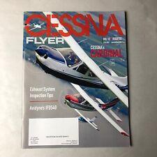 Cessna Flyer Magazine 2015 Cardinal Exhaust System Inspection Tip Avidyne IFD540