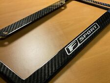 Lexus F sport license plate frame Carbon Fiber -Color Options Available