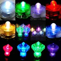 6 12 24 36 Led Submersible Waterproof Wedding Floral Decoration Party Tea Light
