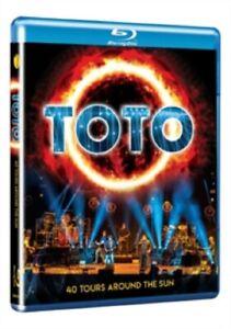 Toto 40 Tours Around the Sun Fourty New Region B Blu-ray