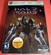 HALO WARS LIMITED EDITION (Microsoft Xbox 360) Brand NEW Factory-SEALED