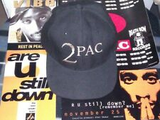 2PAC DEATH ROW INTERSCOPE RECORDS ORIGINAL NEVER USED PROMOTIONAL HAT VERY RARE