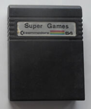 Super Games Cartridge C64 Commodore 64 128 Tested