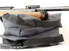 2x Portable Rifle Shooting Bag / Compact Gun Rest Bag/ Shooting range sand bag