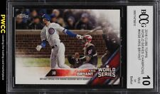 2016 Topps Cubs World Series Champions Kris Bryant BCCG 10 (PWCC)