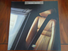 Range Rover Interior brochure 1994 ref 2000/94 large format