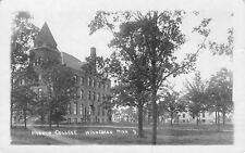 Winnebago Minnesota~Parker College Campus~Buildings~1918 Real Photo~RPPC