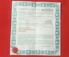 ROLEX 16808 Submariner Guarantee Warranty Certificate Holder 1980s 1985