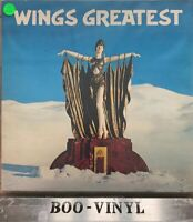 WINGS - WINGS GREATEST  LP  PARLOPHONE PCTC 256 + INNER + POSTER   Ex Con