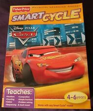 NEW Factory Sealed World of Cars Smart Cycle Game Cartridge Lightning McQueen
