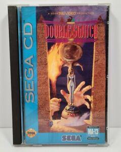 Sega CD - Double Switch - CIB Complete Case, Manual, Disc, & Foam Insert