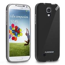 Puregear Samsung Galaxy S4 Slim Shell Impact Flexible Silicone Case Black