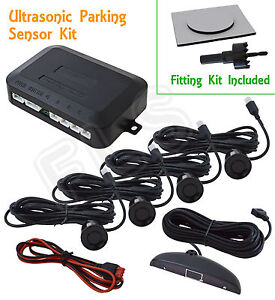 UNIVERSAL RADAR REVERSE PARKING SENSORS SYSTEM KIT WITH DISPLAY – Chevrolet