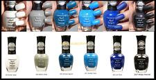 Kleancolor Matte Collection 6pc Lot Nail Polish Lacquer White Black, Blue 706-A