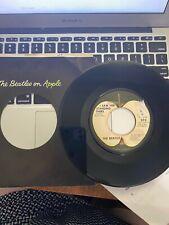 BRITISH INVASION 45 RPM RECORD- THE BEATLES - APPLE 5112