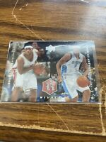 2004 Upper Deck Rivals Lebron James Carmelo Anthony #29 NMMT First Year Card NBA
