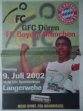 Programma 9.7.2002 GFC edecisiva-il Bayern Monaco
