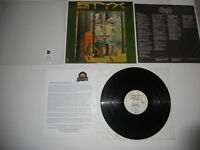 Styx The Grand Illusion A&M SP-4637 Analog VG 1st USA ULTRASONIC Clean