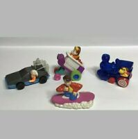 1991 McDonald's Happy Meal Toys Complete Set of 4 BACK TO THE FUTURE Figures