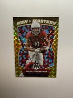 2020 Panini Mosaic Football 1/1 GOLD Larry Fitzgerald 1/10 Men of Mastery RARE