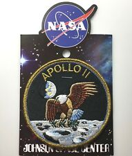 NASA APOLLO 11 MISSION PATCH Official Authentic SPACE 4in Made in USA si