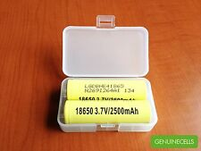 6x LG HE4 18650 2500mAh 35A High Drain Rechargeable Li-ion Battery -LGDBHE418650