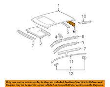 TOYOTA OEM 03-08 Corolla Roof-Rear Header 6313302040