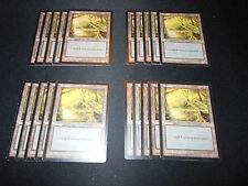 20 Basic Land - SAME ART - Swamp - Mirage - MP-NM Condition - Magic MTG FTG