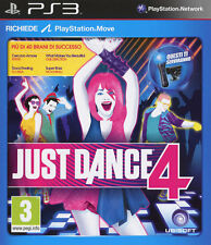 Just Dance 4 PS3 Playstation 3 IT IMPORT UBISOFT
