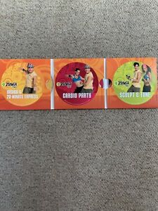 Zumba Fitness Guide And Complete Body Transformation 3 DVD Set