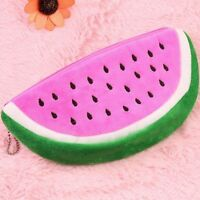 Watermelon Plush Stationery Pencil Case Pen Purse Cosmetic Bag Storage Bag