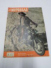 Das MOTORRAD Zeitschrift Nr.2  von 1958 alles über Räder, Elefantentreffen 1958