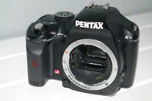 Pentax K-X SLR Digital Camera Body Only and Operating Manual colour Black