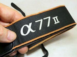SONY camera neck/shoulder Strap for camera OEM α77 II α99 SLR Alpha Original
