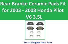 Rear Brake Pads Fit for 2003 2004 2005 2006 2007 2008 Honda Pilot V6