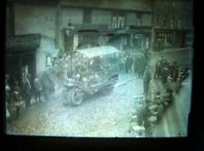 Glass Plate Negative  Steam Roller Butcher  Row  Beverley  6.5 x 4.75 inch