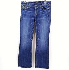Citizens of Humanity Womens COH Petite Dita Size 30 Bootcut Blue Jeans VGUC