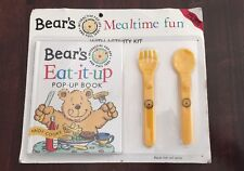 New Other Bear's Mealtime Fun With Activity Pop Up Book by Andy Cooke